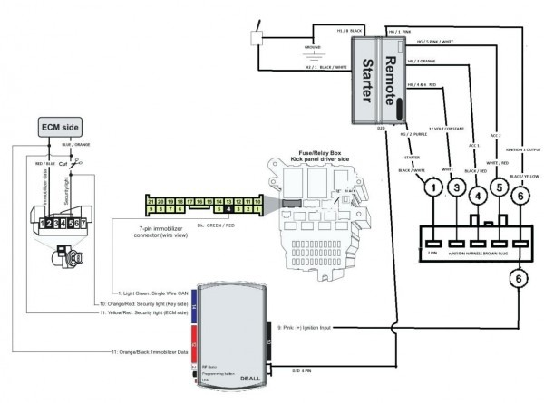 Citroen Remote Starter Diagram