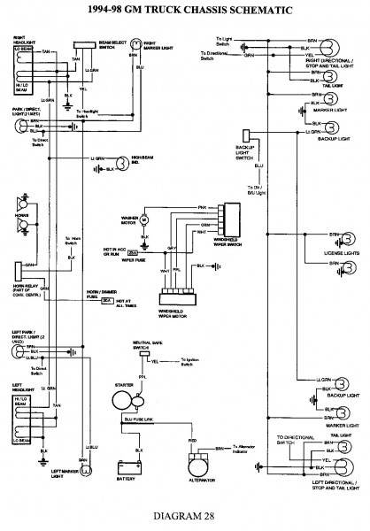 Gm Headlight Switch Wiring