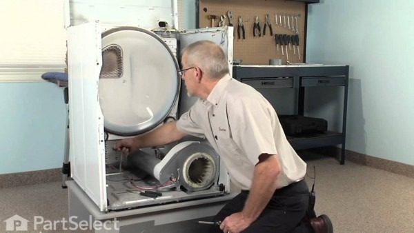 Replacing High Limit Thermal Fuse On Whirlpool Dryers