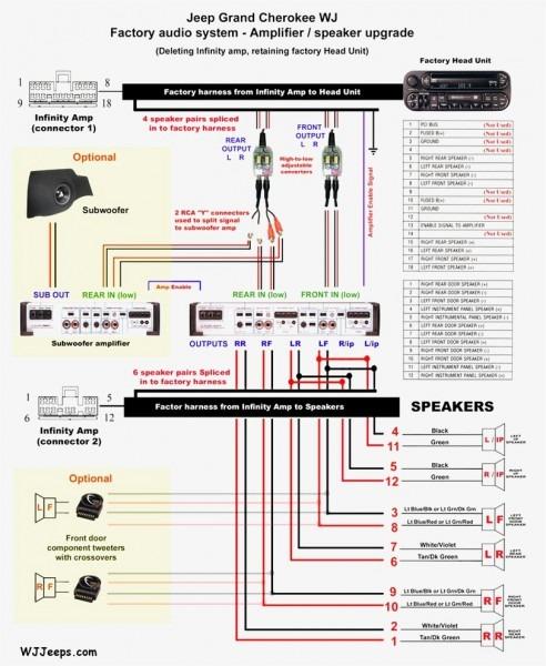 Rockford Fosgate Car Stereo Wiring Diagram