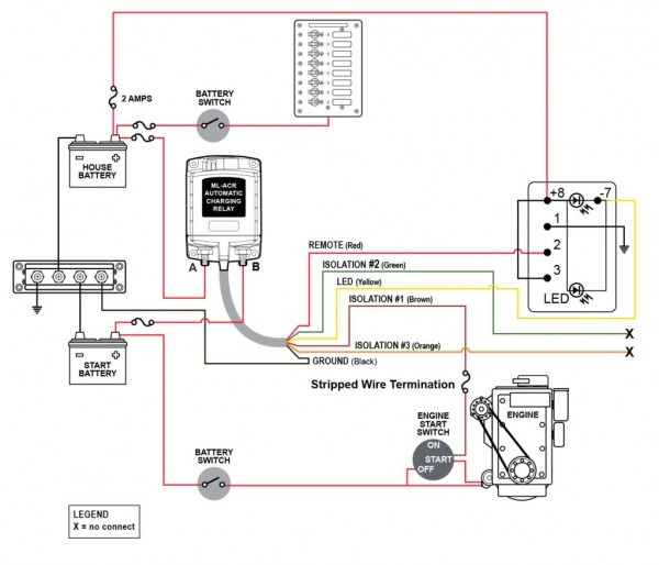 Rv Power Converter Wiring Diagram