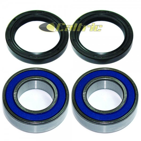 Front Wheel Ball Bearing And Seals Kit Fits Kawasaki Mule 3010