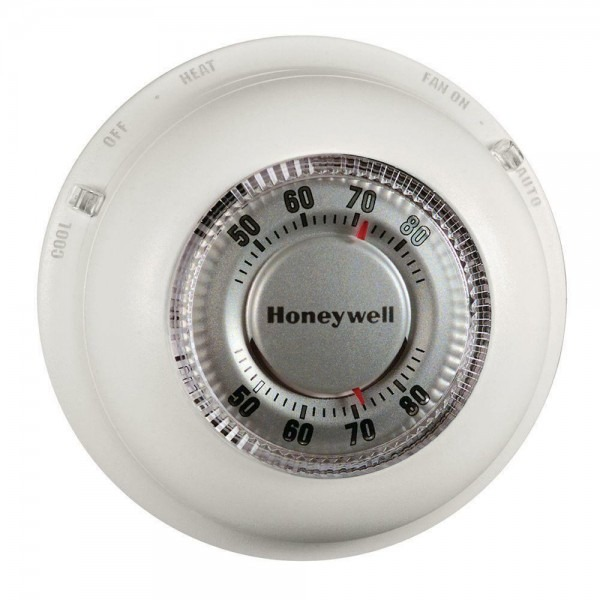 Honeywell Ct87n Classic Round Thermostat Heat Cool Non