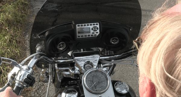 Harley Road King Classic Radio