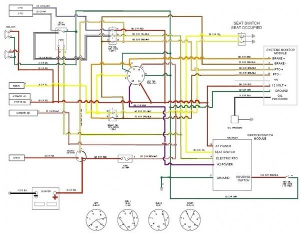 Lawn Mower Wire Diagram