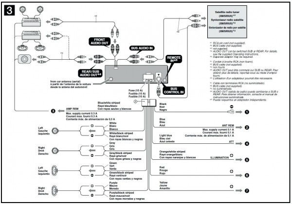 diagram dual cd player wiring diagram xdma6630 full version