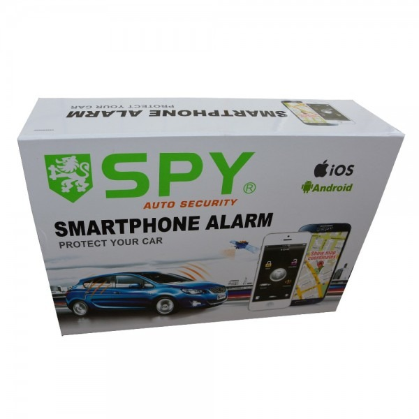 Spy Two Way Gps Gsm Pke Universal Immobilizer Car Alarm Security