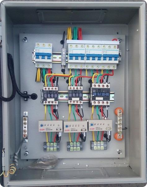 Usd 211 07] Push Button Fan Pump Control Box Switch Distribution