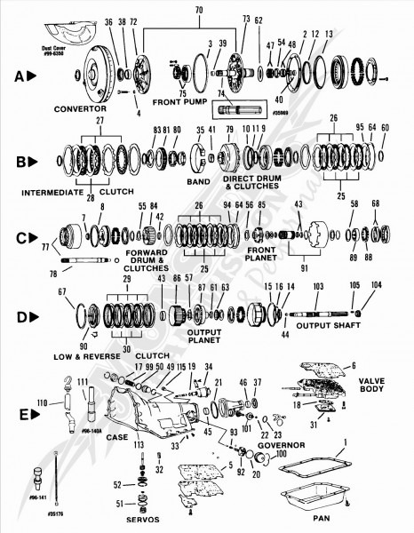 Turbo 400 Wiring Diagram