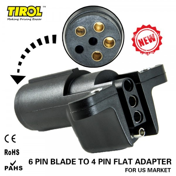 Detail Feedback Questions About Tirol 6 Way Round Pin To 4 Way