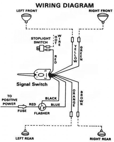 Aftermarket Turn Signal Switch