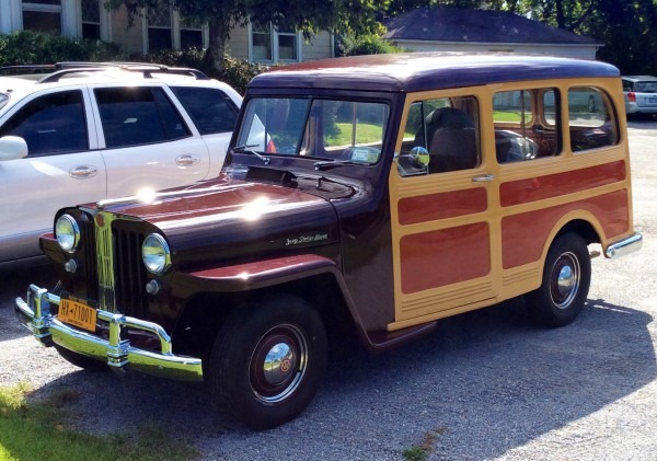 1948 Willys Overland Station Wagon Stock   1948willys Overland For