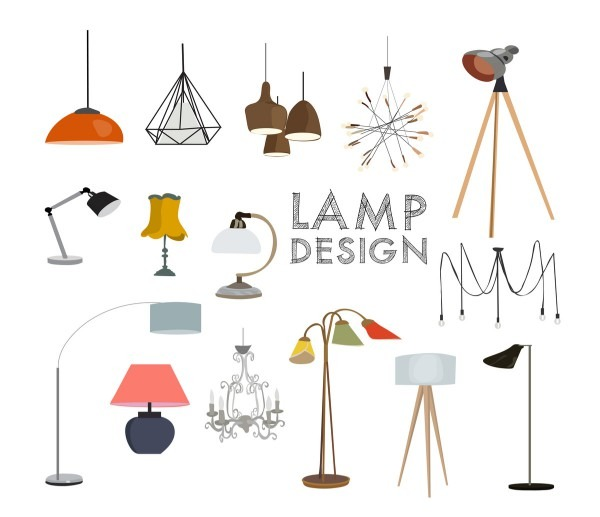 Parts Of A Lamp (table And Floor Lamp Diagram)