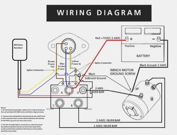 4 Wire Wiring Diagram Winch