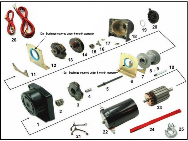 Polaris Winch Parts