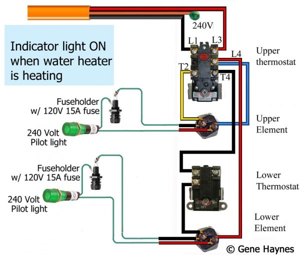 Heat Lamp Circuit Diagram