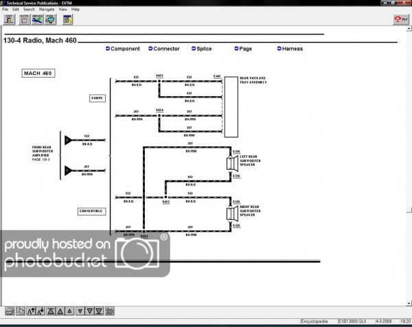 Mach 460 Sound System Wiring Diagram