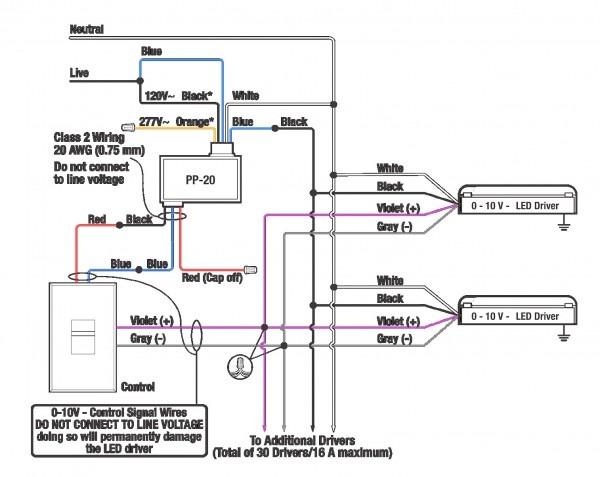 Dimming Ballast Wiring Diagram