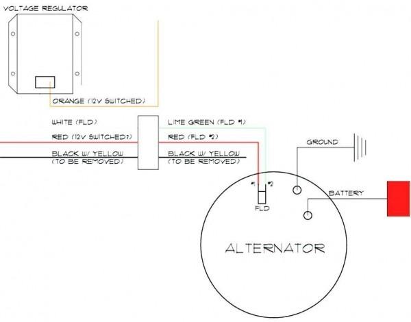 Gm 3 Wire Alternator Wiring Diagram