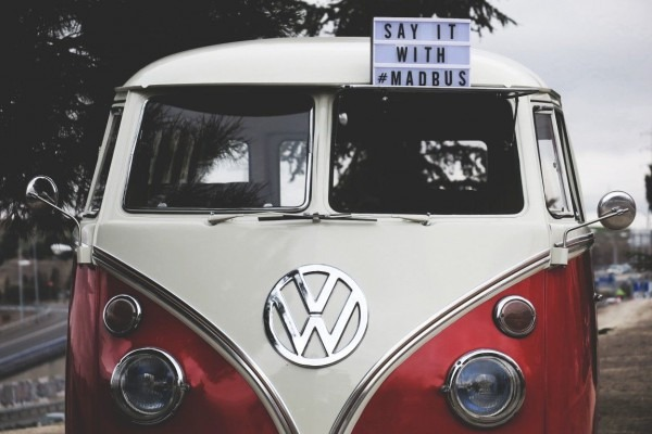 Beautiful 66' Vw Bus For Rent In Madrid, Spain  Www Facebook Com