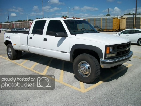 98 Chevy 3500 Dually