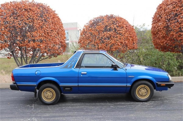 Remember The Subaru Brat With Seats In The Pickup Bed
