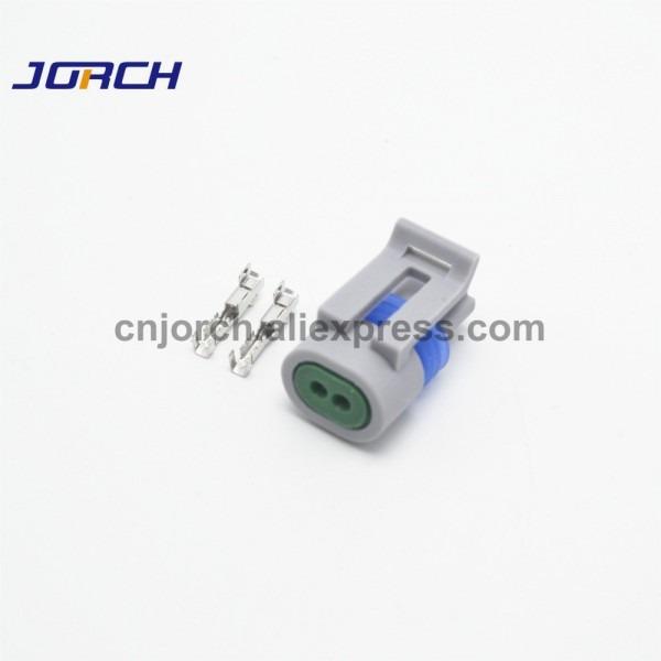 10sets Delphi 2 Pin Intake Air Temp Temperature Sensor Plug