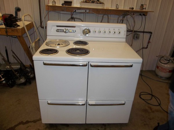 Hotpoint 40 Inch Electric Stove Range Vintage On Popscreen