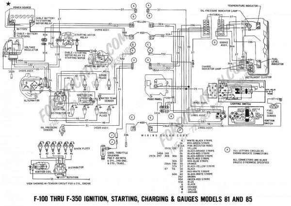 1956 Ford F250 Wiring Diagram