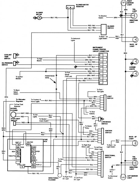1978 Ford Bronco Wiring Diagram