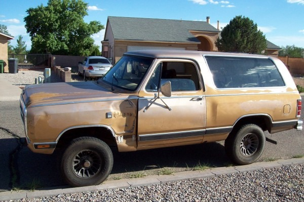 Dodge Ramcharger Questions