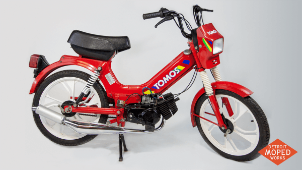 1994 Tomos Sprint (sold) – Detroit Moped Works