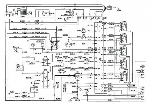 Volvo 850 Radio Wiring