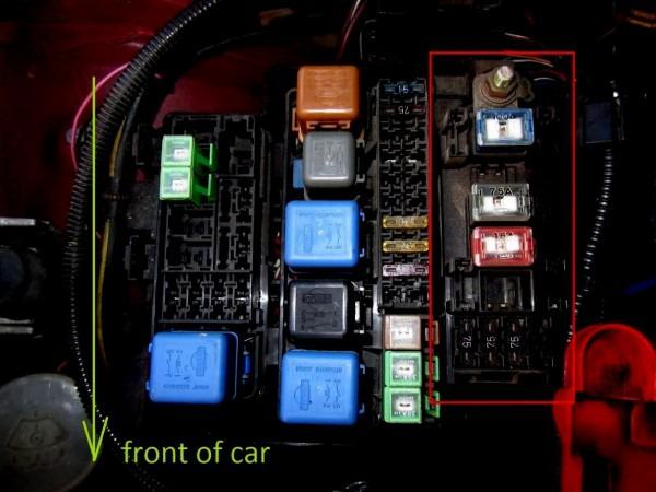 Interior Fuse Box S13