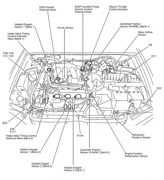 2012 Nissan Xterra Engine Diagram