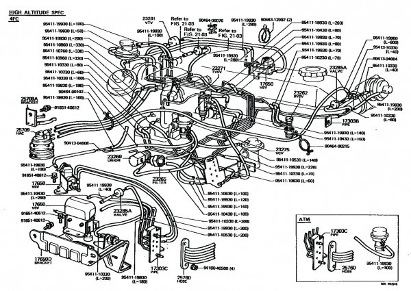 1996 Toyota Tacoma Parts Diagram Http Wwwtrademotioncom Parts 1996