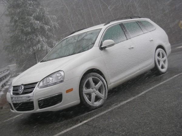 Driven  Volkswagen Jetta Tdi Sportwagen  Achieved  52 4 Mpg