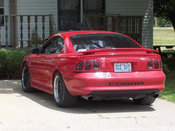 Raxiom Mustang Smoked Tail Lights 49124 (96