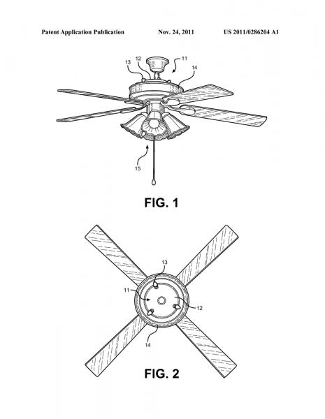 Universal Ceiling Fan Uplight Kit
