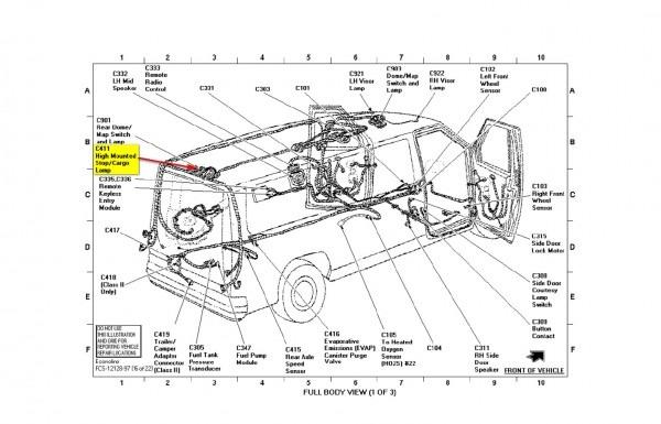 Ford E 350 Parts Diagram