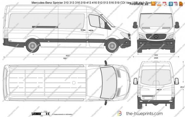 Mercedes Sprinter Blueprint