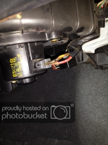 Blower Motor Resistor Pigtail Fried