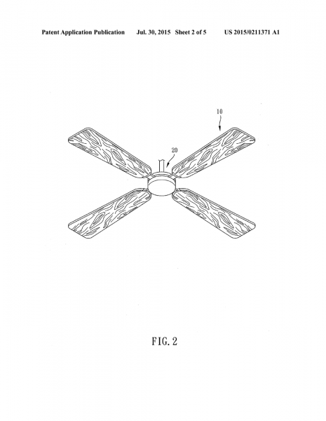 Method For Manufacturing Ceiling Fan Blade And Ceiling Fan Blade
