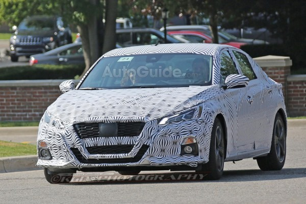 2019 Nissan Altima's New Look Revealed In Spy Photos