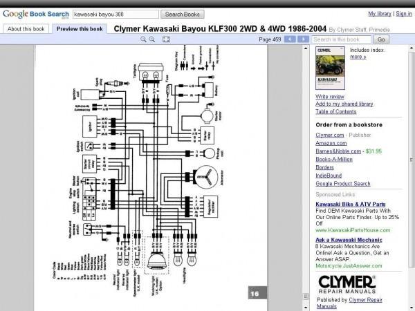 Wiring Diagram Bayou 300 1987