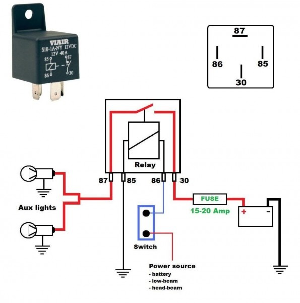 Wiring A Toggle Switch To Relay