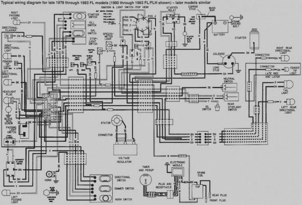 Harley Evo Wiring Diagram