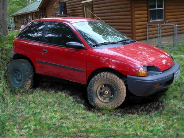 Project  Ecomudder ; Geo Metro Mud Machine  Bug Out Vehicle