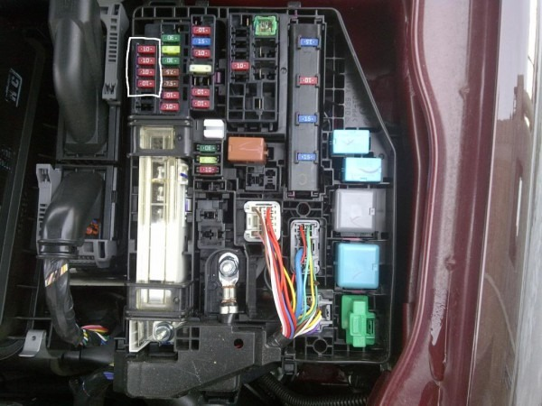 Scion Xa Radio Fuse Diagram