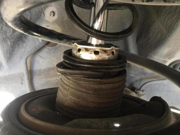 05 Nissan Murano Struts Noise Problem